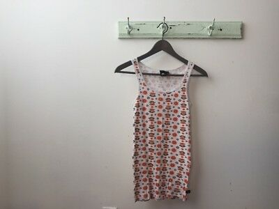 NWOT Julius & Friends By Paul Frank Pyjama Sleep Ribbed Tank Sz S - Retail $33