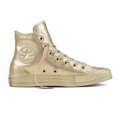 Converse Chucks Taylor All Star Hi Damen Sneaker Schuhe 157631c (gold)