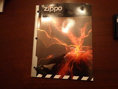 Full Size Zippo Lighter Catalog 2004 Unused