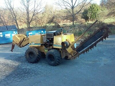 Vermeer Lm-42 Diesel Trencher - Cable Plow W/auxiliary Boring Unit