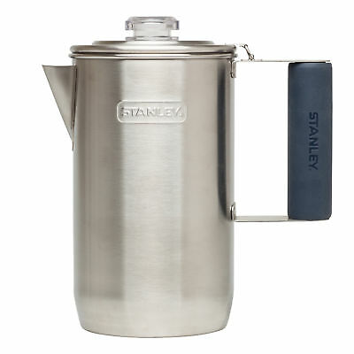 Stanley Adventure Stainless Steel Percolator Coffee Espresso Maker Camping 6 Cup