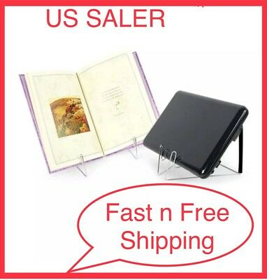 OliaDesign Fold-n-Stow Book Stand Black NO TAX