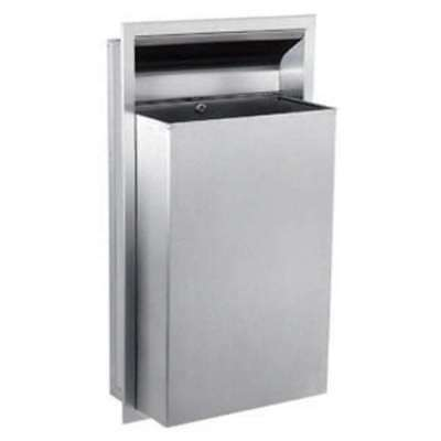 Gamco WR-6 Stainless Steel recessed waste receptacle