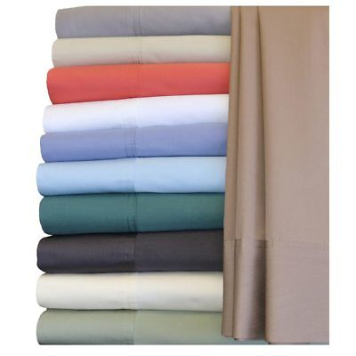 300 Thread Count Crisp Bamboo-Cotton Hybrid Bed Sheets