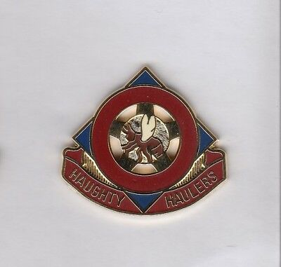 Quartermaster QM Supply crest DUI badge P-23 US Army 143rd Support Bn