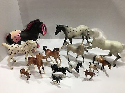 Breyer Horse Lot Mixed Size Pony