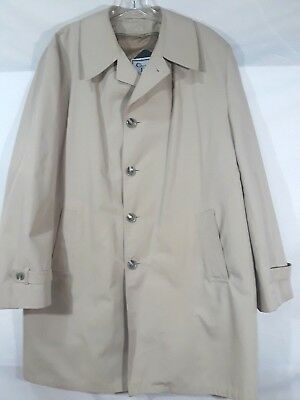 Men's Vintage Christian Dior Le Connaisseur Paris New York Trench Coat 44 Long