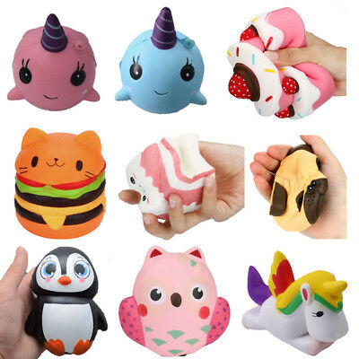 Jumbo Slow Rising Squishies Phone Charms Kawaii Squishy Squeeze Toy Collection