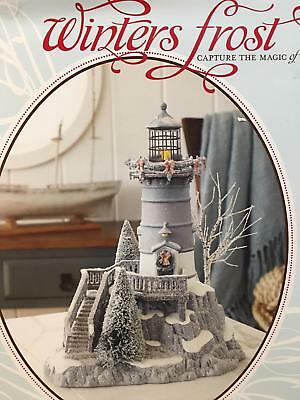 Department 56 Winters Frost Lighthouse Winters Light Brand New in Box Christmas
