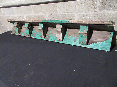 ~ 5 Antique Corbels Soffit 5 Feet ~ Wall Shelf Mantle ~ Architectural Salvage