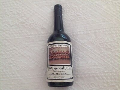 Collingwood Football Club 1990 Premiership Port Unopened in Good  Condition