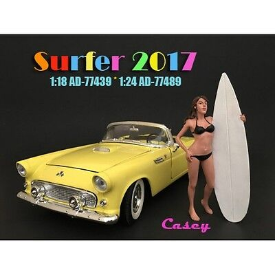 1/18 American Diorama Surfer 2017 - CASEY - for your garage/shop AD-77439