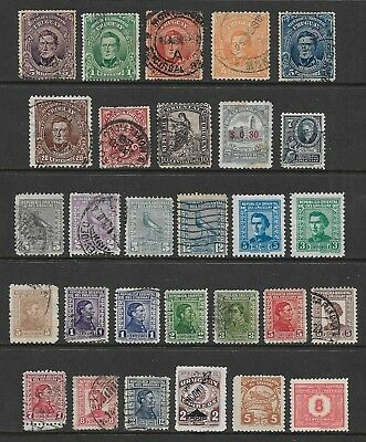 URUGUAY mixed collection No.4, early, used & mint