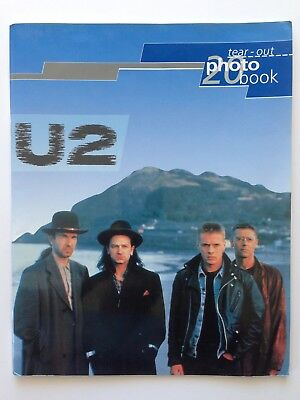 U2 Tear Out Photo Book 1993 20 Photographs Oliver Books