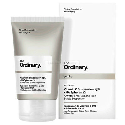 The Ordinary Vitamin C Suspension 23% + HA Spheres 2% 30ml Water / Silicone Free