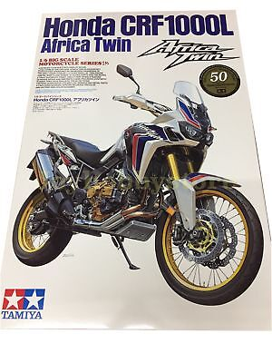 Tamiya 16042 Honda CRF1000L Africa Twin 1/6 Model Kit