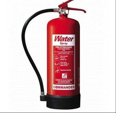 COMMANDER 9 litre WATER SPRAY FIRE EXTINGUISHER