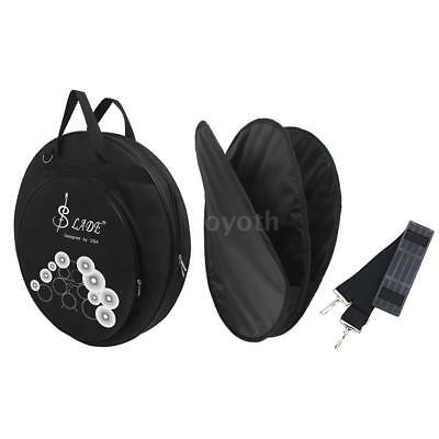 21-Inch Three Pockets Cymbal Bag Backpack with Removable Divider Shoulder P8S8