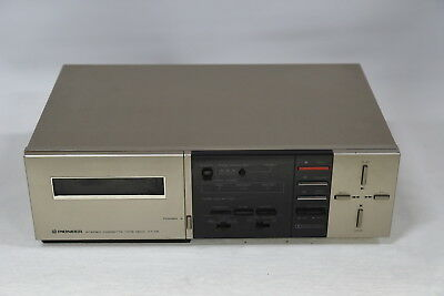 Pioneer CT-X5 Stereo Cassette Tape Deck