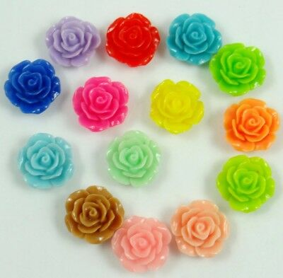 Wholesale Gorgeous Rose Flower Coral Spacer Beads, Color Choose 20MM