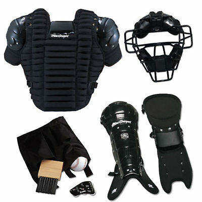 Baseball Umpire Protective Gear Pack Baseball Body Protector Accessories Set