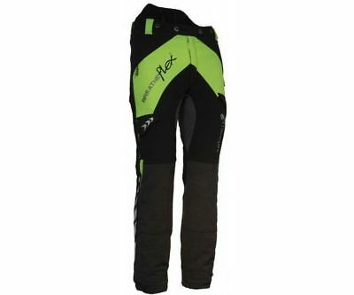 Arbortec Breatheflex Class 2 Type C Forestry Chainsaw Protective Trousers Lime