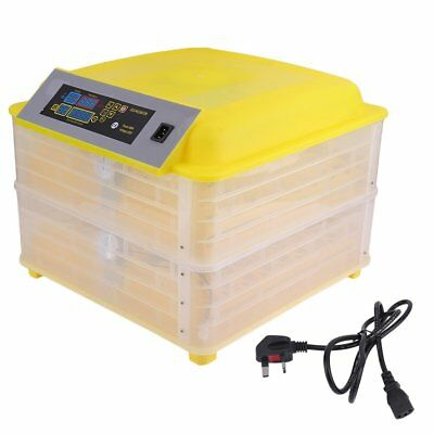 2017 AUTOMATIC EGG INCUBATOR 96 EGGS POULTRY HATCHER CHICKEN INCUBATOR Free P&P
