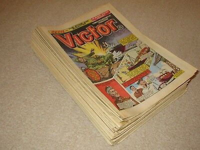 VICTOR COMICS X 33  FROM 1981,  Good condition/ WARLORD- Job Lot