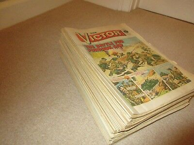 VICTOR COMICS X 43  FROM 1972, 1973, 1974, 1975, 1976, 1977, 1978, 1979, gc