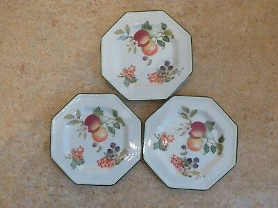 Johnson Brothers Fresh Fruit Side Plates x 3 & JOHNSON Brothers Fresh Fruit Side Plates X 6 - £15.00 | PicClick UK