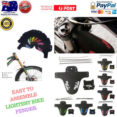 MUD GUARD Bicycle Mudguard MTB Fender Mud Guards Wings - Bicycle Front Fender