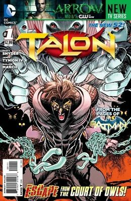 TALON ISSUE 1 - FIRST 1st PRINT - SCOTT SNYDER BATMAN - DC COMICS NEW 52