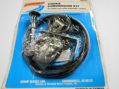 Champ Universal Choke Conversion Kit - Convert Automatic to Manual Choke