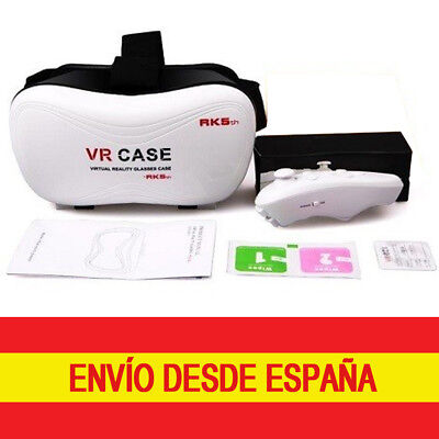 VR Case RK5 Box Gafas Realidad Virtual 3D Mando Joystick Bluetooth Android iPhon