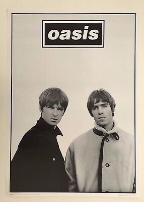Oasis, Photo By Jill Furmanovsky Authentic Licensed 1996 Poster