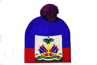 fc3e7054749b PERU RED COUNTRY Flag Logo BEANIE HAT With POM POM..NEW -  10.99 ...