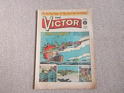 THE VICTOR COMIC,  No 164 - APRIL 11TH 1964 - BOMBS AWAY