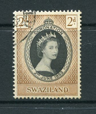 Swaziland: 1953 Queen Elizabeth II Coronation Stamp SG52 Fine Used AW200