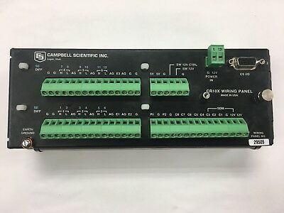 Campbell Scientific CR10X Data Logger, No damage, No water, working perfectly