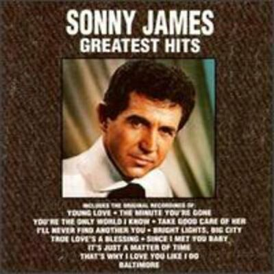 Sonny James - Greatest Hits (CD Used Like New) CD-R