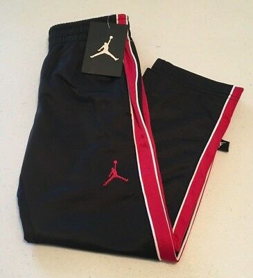 d6e6d51924e Nike Air Jordan Athletic Sweat Pants Boy's Youth Size - 4 Black/Red/White