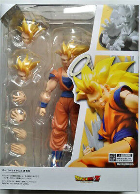 S.H.Figuarts Dragon Ball Z Super Saiyan 3 Son Goku 2.0 Gokou PVC Action Figure