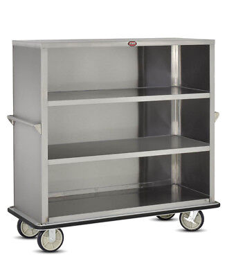 FWE BRAND UCE-415 PORTABLE UTILITY CART Stainless Steel-LIGHTLY USED