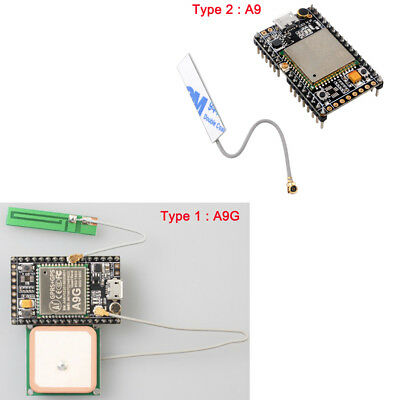 GPRS GSM A9G / A9 Module Development Board GPS Antenna SMS Voice Wireless  IOT