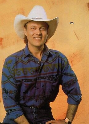 Ricky Van Shelton 1 Page Magazine Picture Clipping Country Music