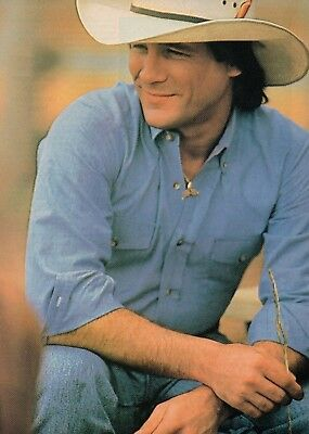 Clint Black 1 Page Magazine Picture Clipping Country Music