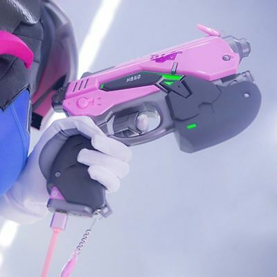 Cosplay Overwatch D.Va DVA Multi-function Power Bank 8000mah Toy Gun Weapon Prop