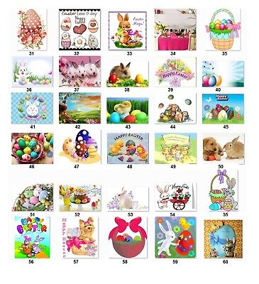 Personalized Return Address Labels Easter Buy 3 get 1 free (e2)