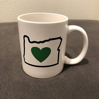 Heart In Oregon Mug