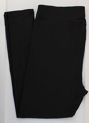 TC2 LuLaRoe Size TC2 (not 2 pairs) Leggings from Noir II Collection Solid Black